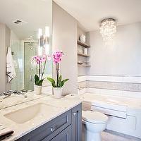 Madison Taylor Design - bathrooms - white and grey bath.