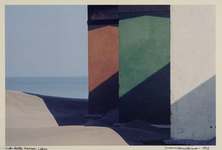 Franco Fontana Paesaggio urbano, Lido delle Nazioni, 1973 (1990 ca)