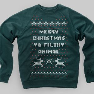 Ugly Christmas Sweater--Home Alone