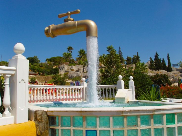 Floating Faucet Fountain,Spain