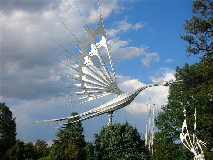 Great Starr Kempfu0027s Kinetic Wind Sculptures