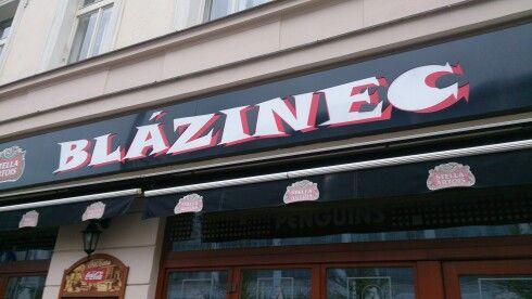 Había pizzería Blázinec, me gusta el mojito!