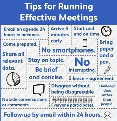 Suggerimenti per un meeting efficace