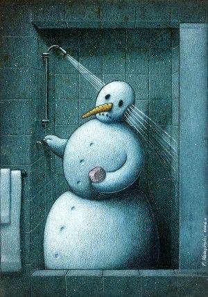 Pawel Kuczynski   Snowman