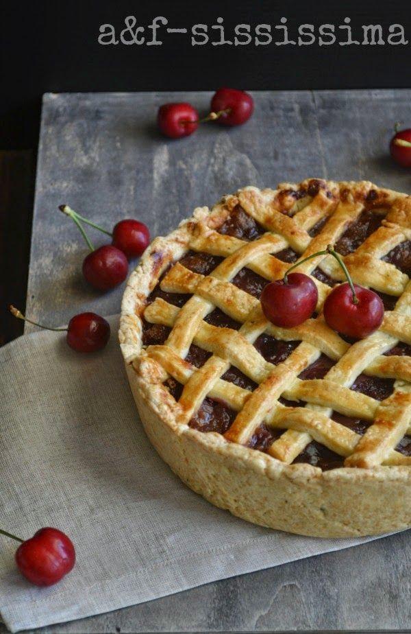 RE-CAKE 9: balsamic cherry pie with black pepper crust