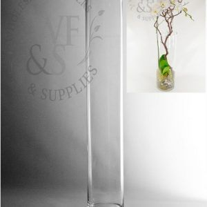 Very Tall Glass Cylinder Vases