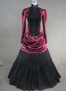 44 best Gothic Victorian Dresses images on Pinterest   Gothic ...