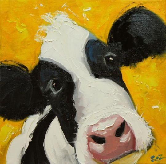 Vacas borrachos - Imágenes graciosas Arte por Roz
