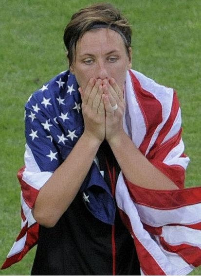 """Abby Wambach - """"Losing is not an option."""""""