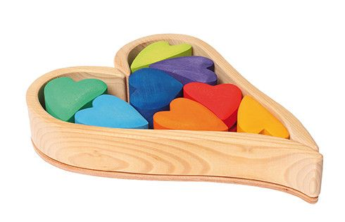 Rainbow Hearts Building Set – Notes From a Home Educator