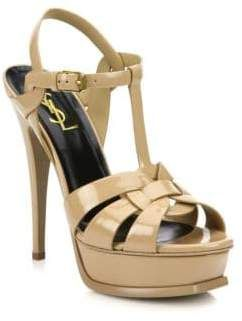 eadd7a57de7 Saint Laurent Tribute Patent Leather Platform Sandals #women #sandals  #fashion #fashionweek #gifts #guide #feshionable #BlackTieLooks #ShopStyle  ...