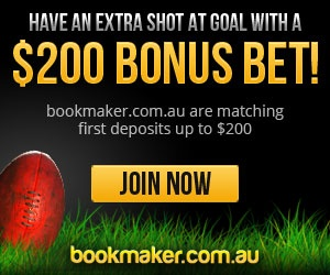 Bookmaker.com.au Review - Free Bets, competitions