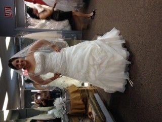 Petite brides show me your dress | Weddings, Beauty and Attire | Wedding Forums | WeddingWire