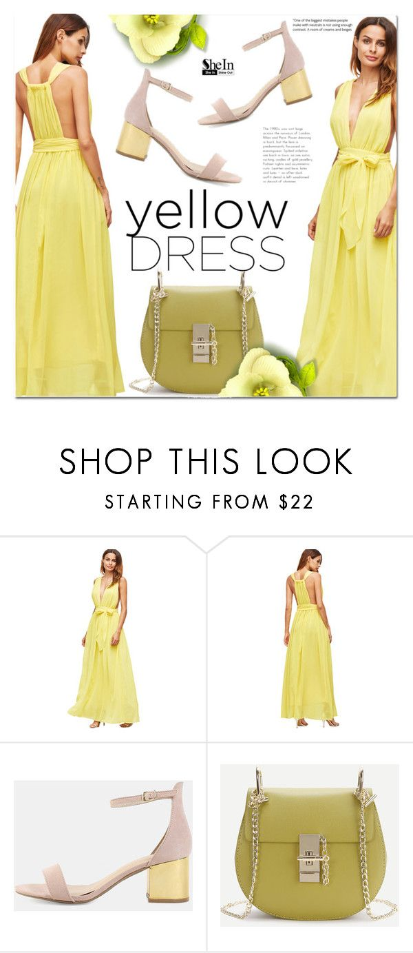 """Yellow Dress"" by cherry-bh ❤ liked on Polyvore featuring yellowdress"