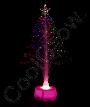 LED Fiber Optic Christmas Tree Centerpiece! This is perfect for #Christmas #parties!