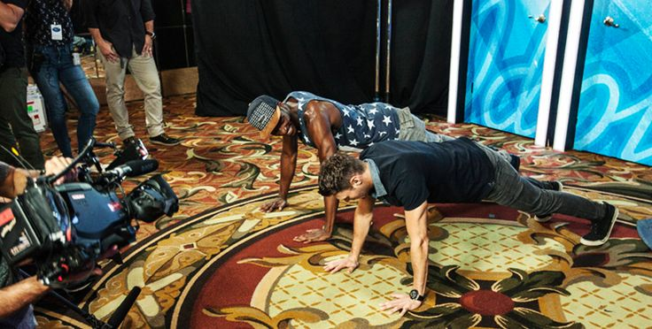 Other times you see that floor and it's like — why am I not doing push-ups on it? Regular aerobic workout is a staple of all successful Idols' warmup regimens. See the full episode here: http://idol.ly/IdolFullEps