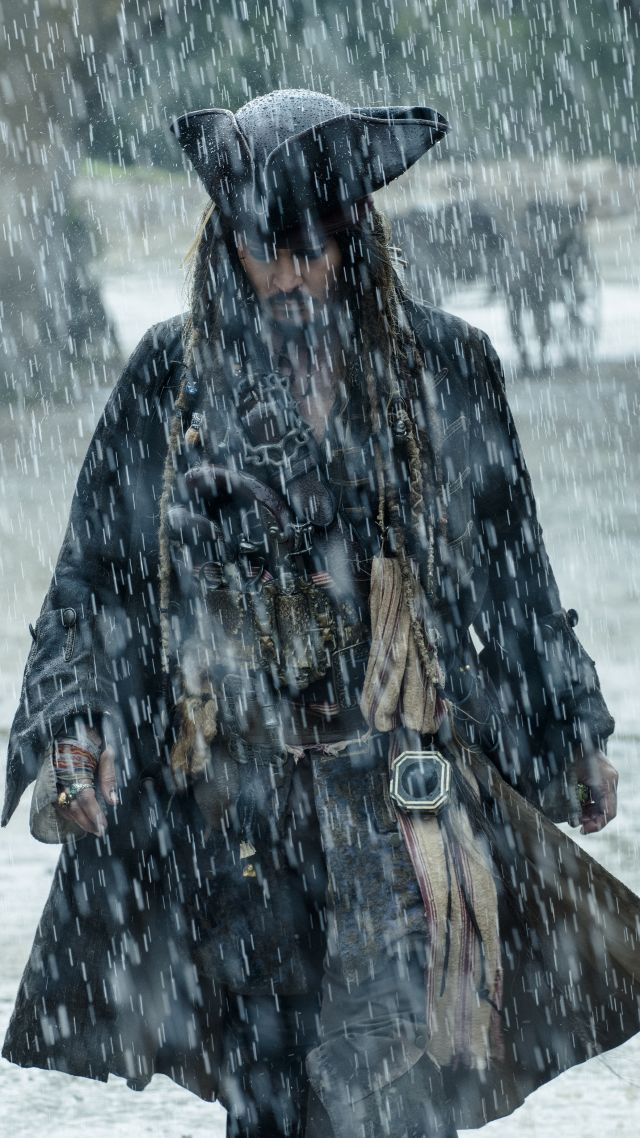 Пираты карибского моря 5, , 4k, 8k, Джонни Депп, Pirates of the Caribbean: Dead Men Tell No Tales, 4k, 8k, Johnny Depp (vertical)