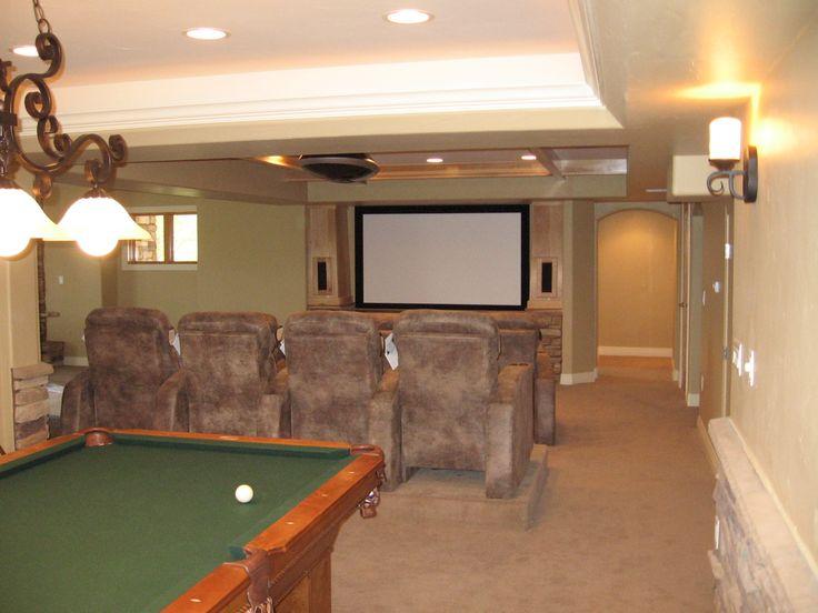 finished basement ideas basement design basement finishing remodeling home - Small Basement Design