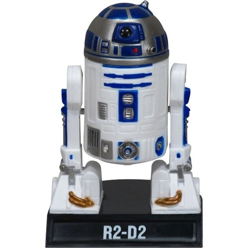 Funko - Wacky Wobbler: Star Wars - R2-D2 Booble Head Figure, Multi