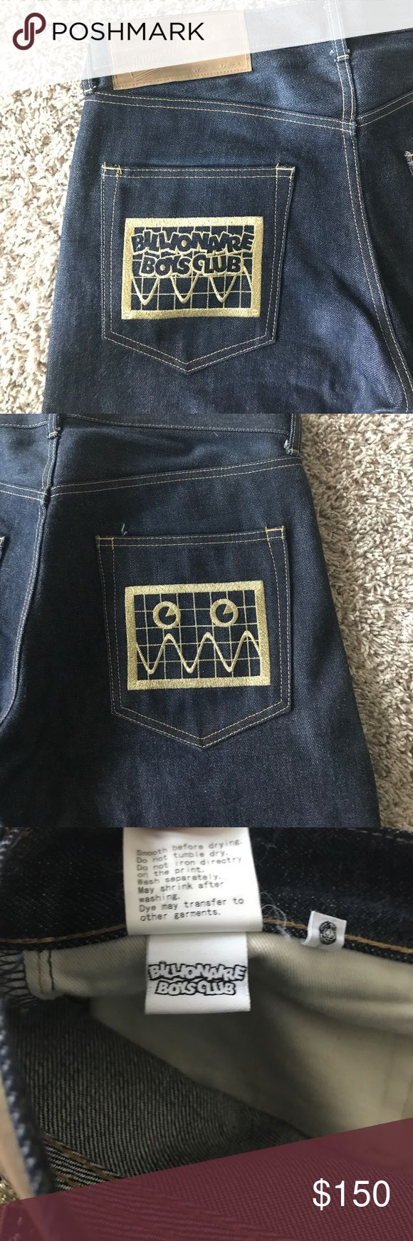 Billionaire Boys Club Jeans. Men's Authentic BBC jeans. Worn But Not Abused. Fit is normal and not skinny. Billionaire Boys Club Jeans Straight