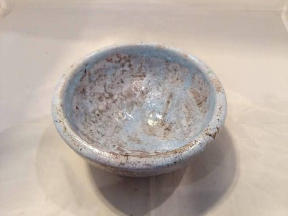 Check out this item in my Etsy shop https://www.etsy.com/listing/582336037/raku-pottery-bowl