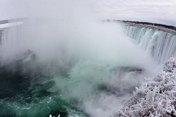 Horseshoe Falls, Niagara Falls, Canadá