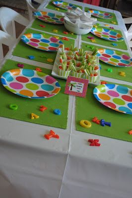 Double the Giggles: {Party} Chicka Chicka Boom Boom 3rd Birthday Bash