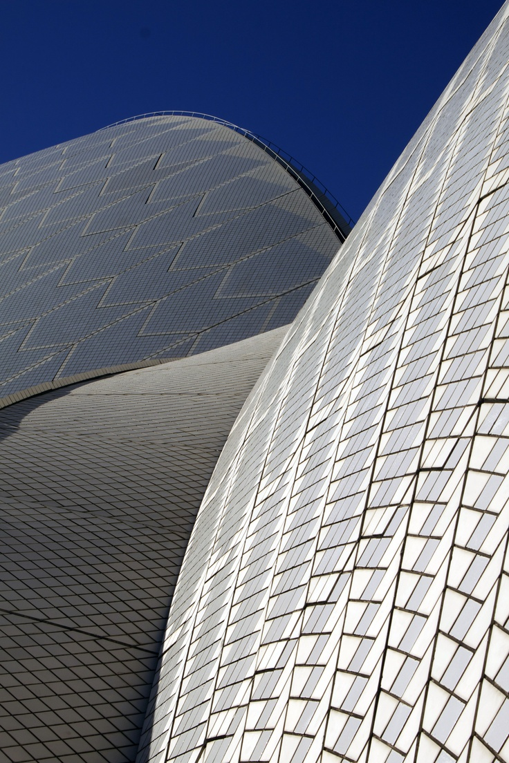 Sydney Opera House, New South Wales, Australia, (1959-1963), by architect Jørn Utzon.