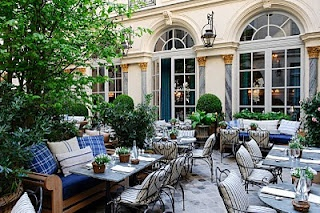 American designer Ralph Lauren has opened its first restaurant in Europe along with its largest European flagship. Housed in a classical 17th century hotel particulière on the boulevard Saint-Germain in Paris's chic left quarter, Ralph's restaurant – the brand's second in the world - fronts onto a leafy cobblestone courtyard for outdoor dining.