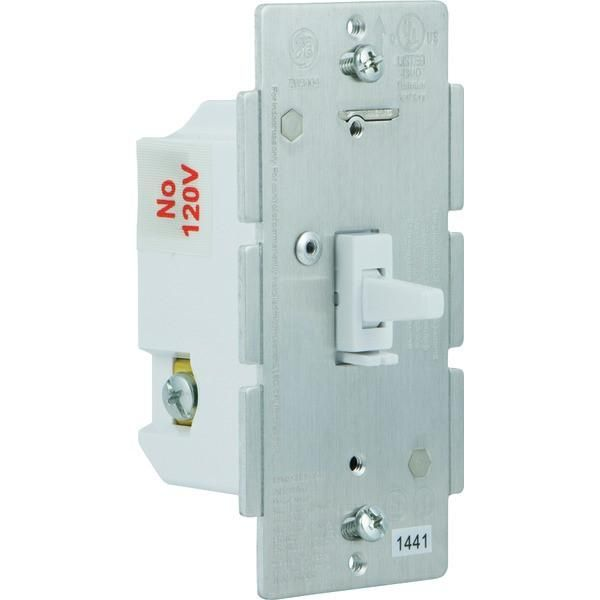 GE 12729 Z-Wave(R) In-Wall CFL-LED Dimmer Switch