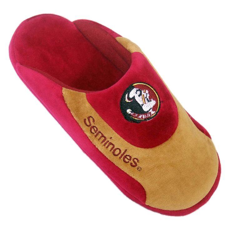 Comfy Feet NCAA Low Pro Stripe Slippers - Florida State Seminoles - FSU07LG