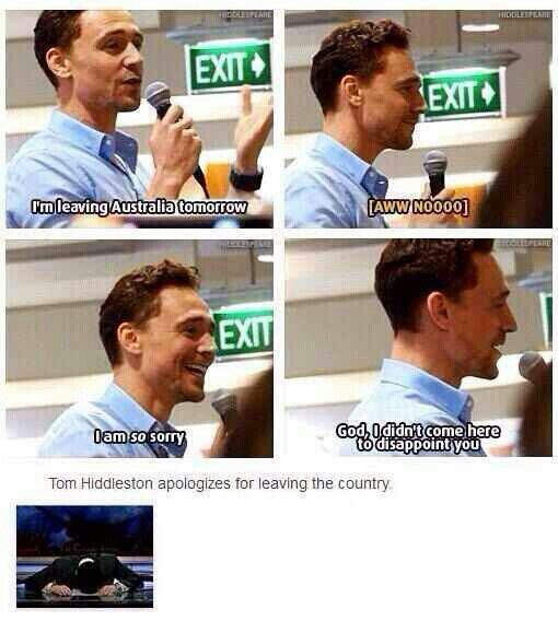 Tom: I am so sorry
