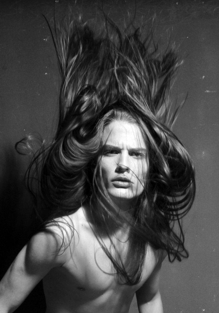 That hair! Lucas Kittel