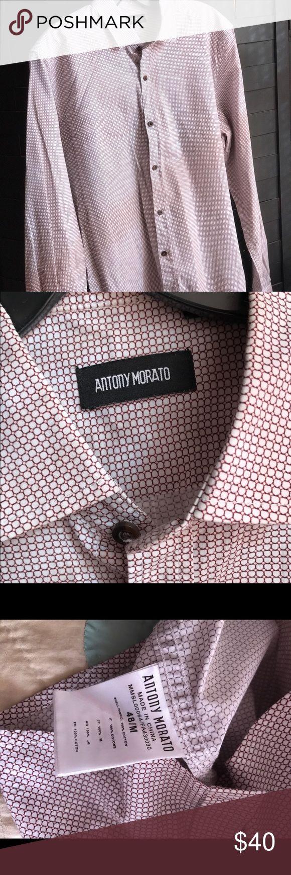 #poshman Antony Morato long sleeve #poshman Antony Morato long sleeve Antony Morato Shirts Casual Button Down Shirts