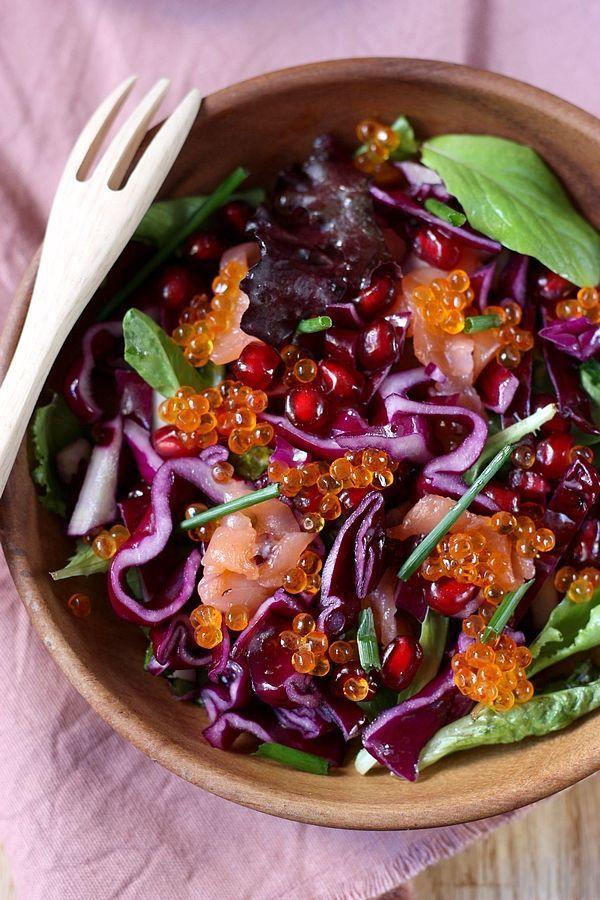 les 25 meilleures id es de la cat gorie salade de chou rouge sur pinterest recettes de cuisine. Black Bedroom Furniture Sets. Home Design Ideas