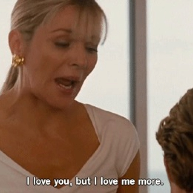 Image result for sex and the city i love me more