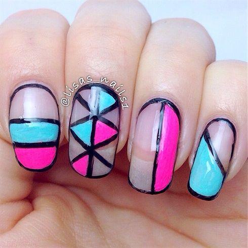 Cut out nails  by Lisasnails1 - Nail Art Gallery nailartgallery.nailsmag.com by Nails Magazine www.nailsmag.com #nailart