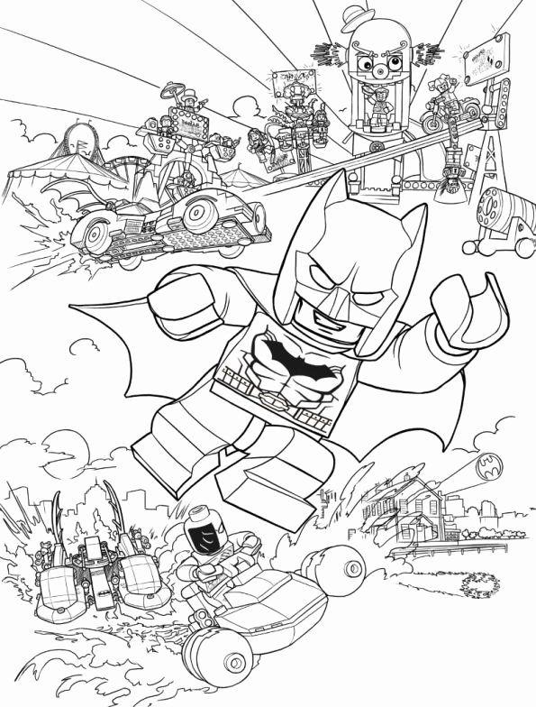 Lego Batman Coloring Book Awesome Kids N Fun Lego Coloring Pages Batman Coloring Pages Coloring Books