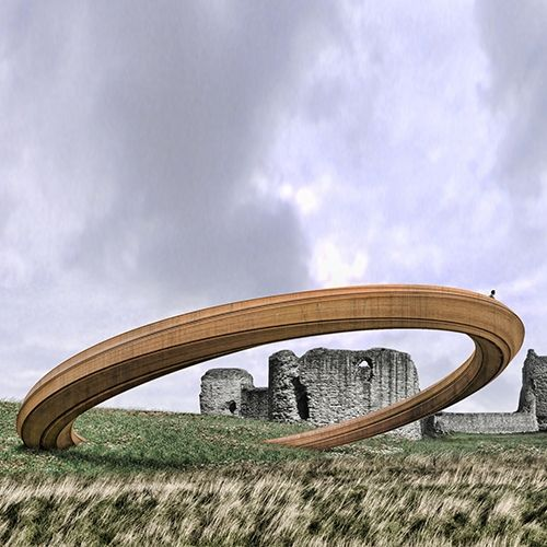 Iron Ring will be installed at Flint Castle in...