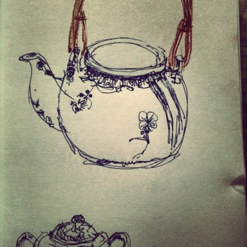 tea time drawings