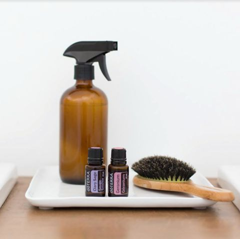 Essential oils for the hair.