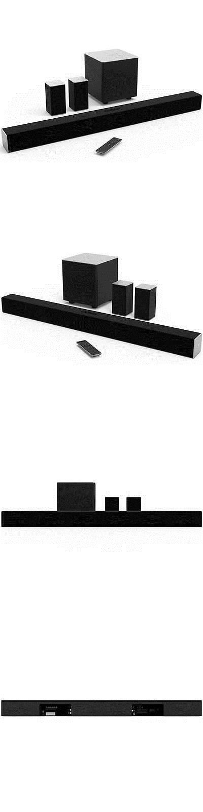 Home Speakers and Subwoofers: Vizio 38 5.1Ch Bluetooth Sound Bar W/ Wireless Sub And Speakers -> BUY IT NOW ONLY: $229.99 on eBay!