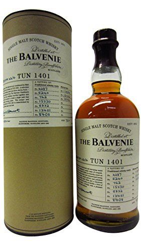 Balvenie – Tun 1401 Batch 4 – Whisky: Balvenie Whisky Cardboard Tube 70cl / 700ml