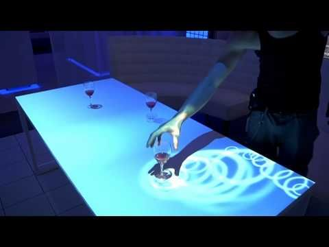 Interactive Table Top Projections - Levy Lighting | NYC