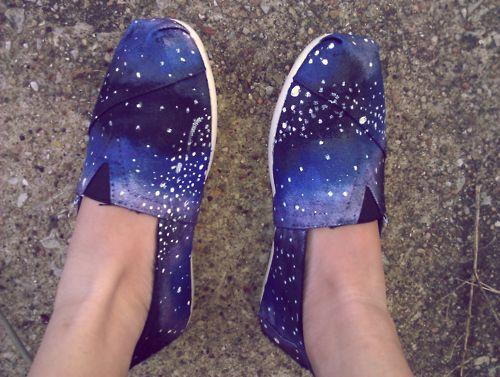 diy galaxy toms