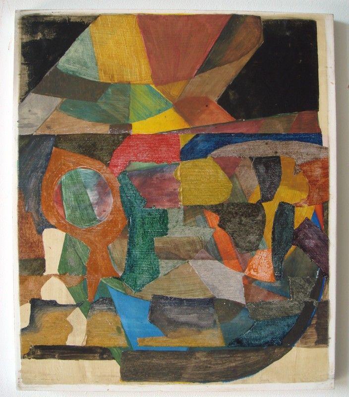 Scott Olson Untitled, 2009, oil on mdf, 16 x 13 in