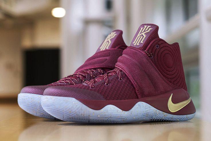 "Kyrie Irving's NBA Finals Game 4 Nike KYRIE 2 PE ""Maroon"" - EU Kicks: Sneaker Magazine"
