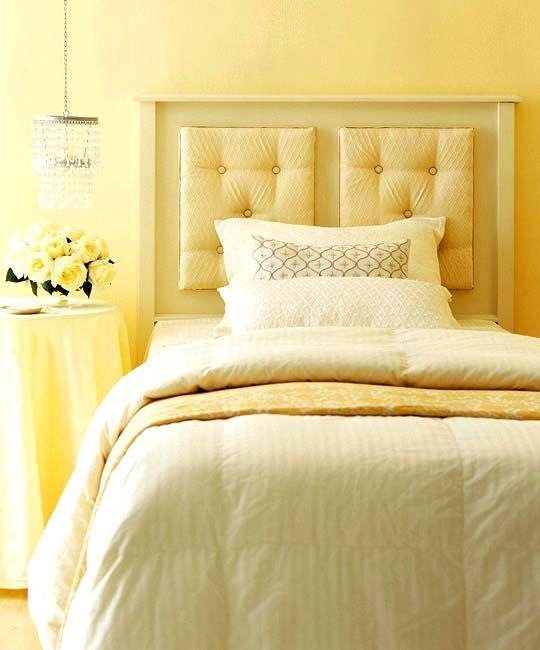 Simple, Cozy, Happy bedroom.