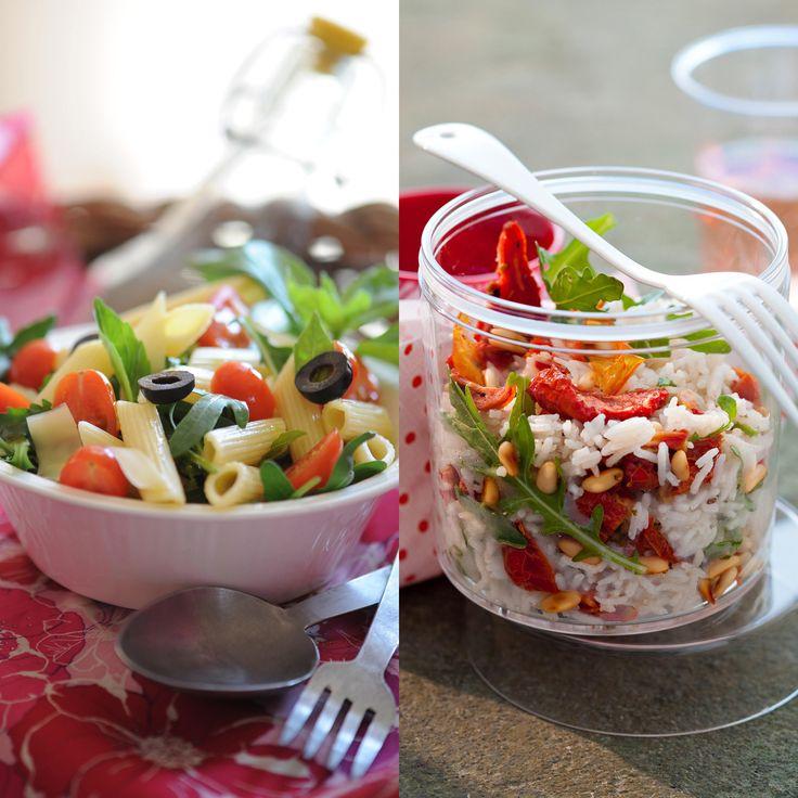 Parfaites pour un pique-nique sur la plage, un déjeuner vite prêt ou un buffet dinatoire, elles sont faciles à faire et se dégustent le plus souvent façon plat unique. Quelles salades !