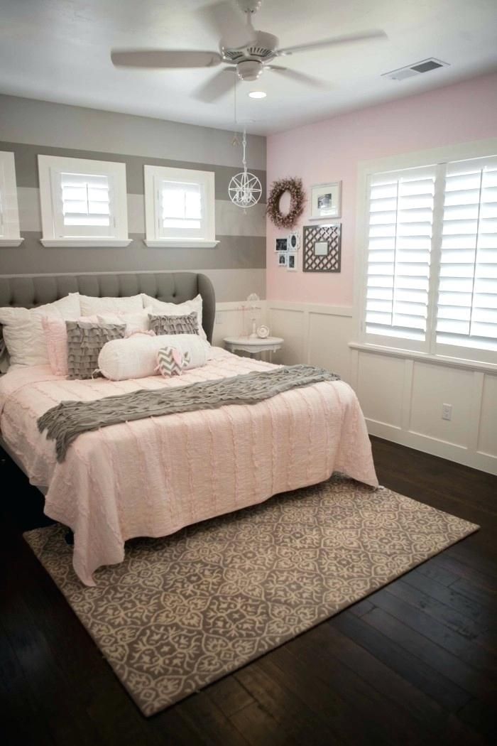 Grey Bedroom Accent Wall Living Ideas Bedroom Bright Pink Accents